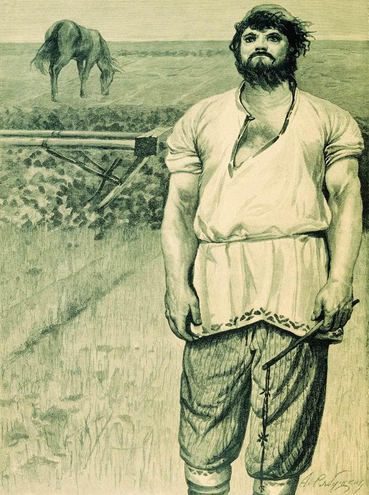 Богатырь микула селянинович картинка