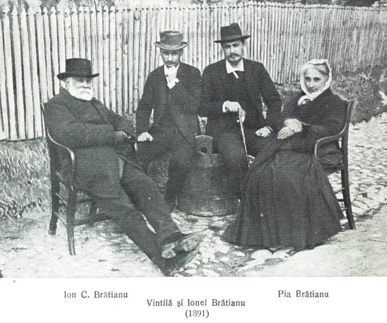 Fișier:1891 - Ion C Brătianu, Pia Brătianu, Ion I.C. Brătianu şi Vintilă  Brătianu.PNG - Wikipedia