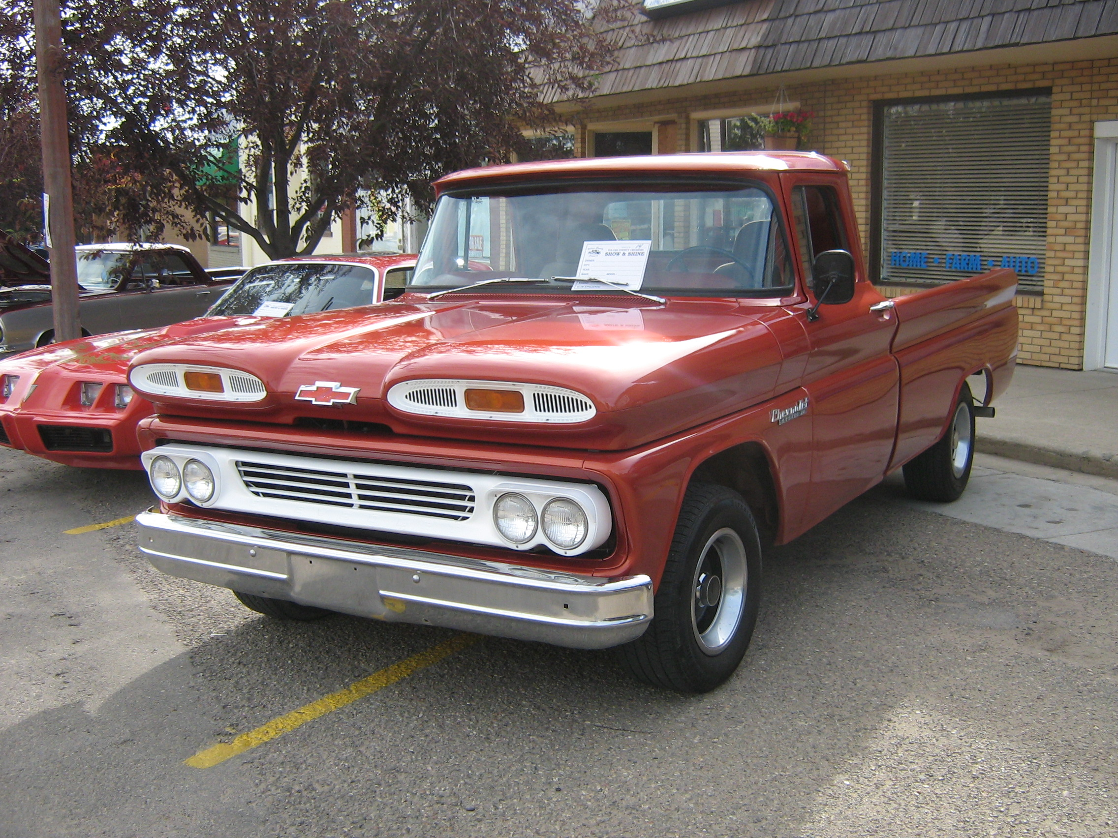 58 And 59 Chevy Apache Trucks Work That Turned Into Classics 1961 Pickup Truck 1959 Chevrolet