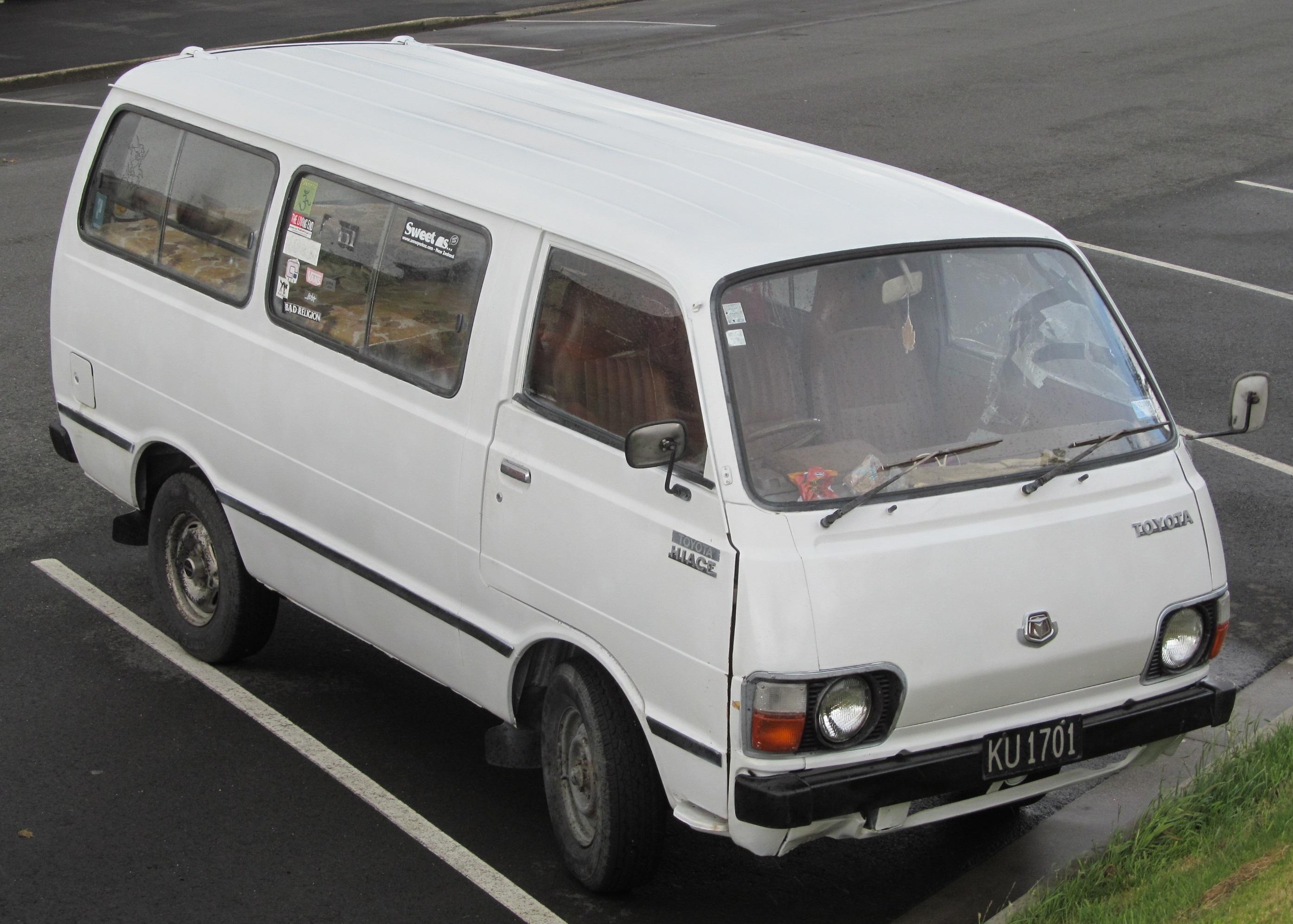Prix Minibus & Bus Toyota Hiace  Afrique Exportation