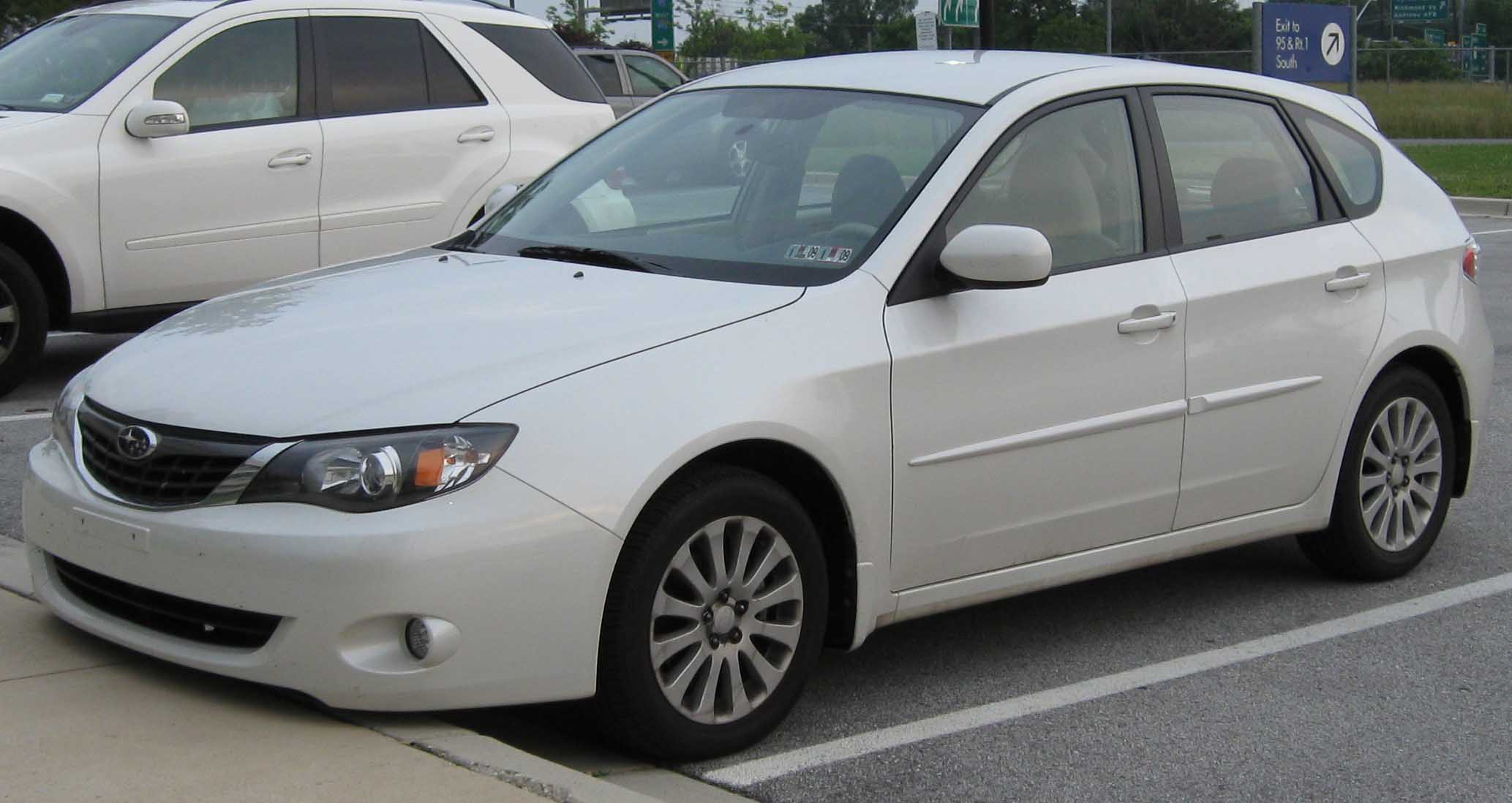 file:2008 subaru impreza 2.5i hatch front 1 - wikimedia commons