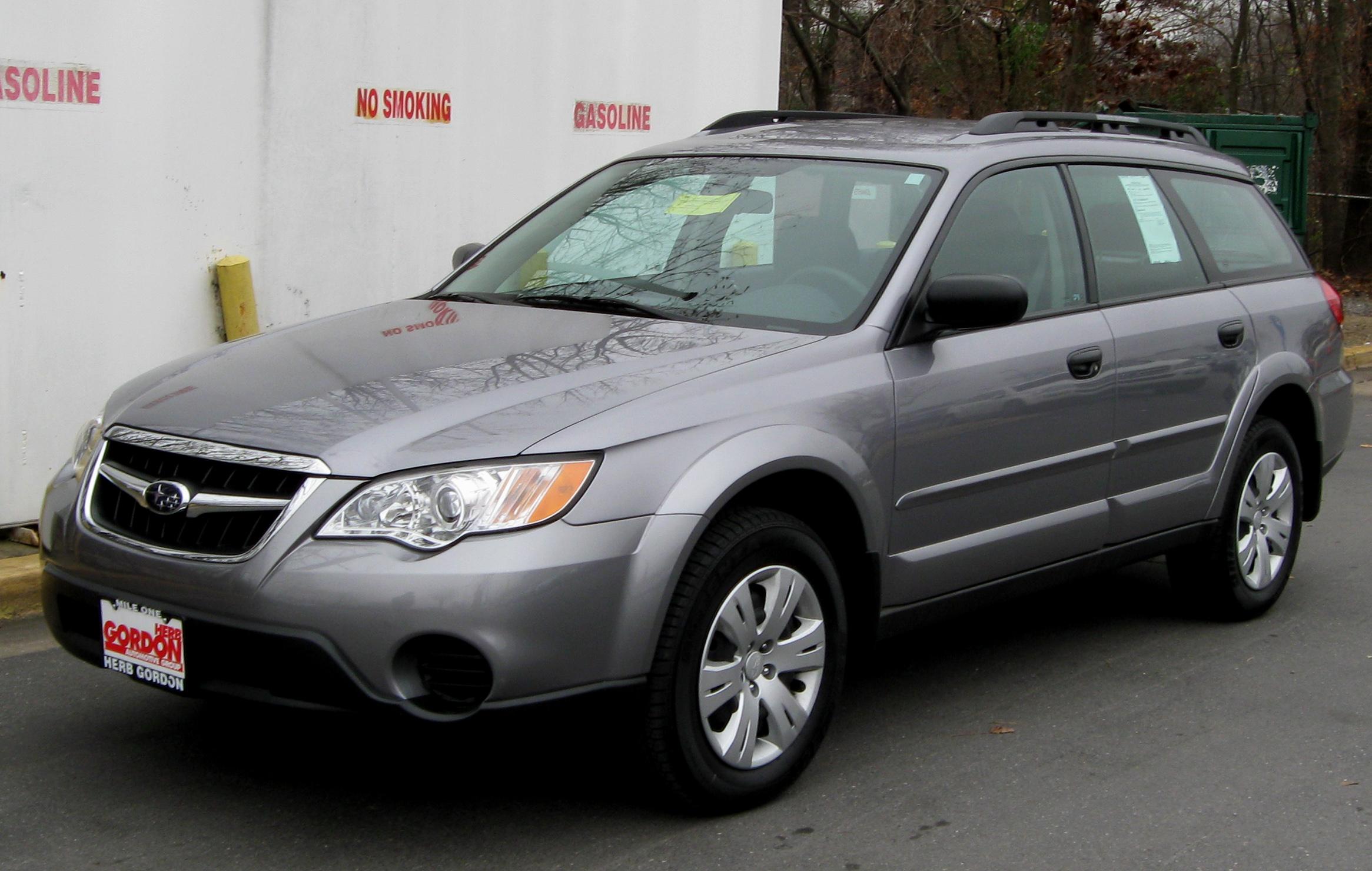 File:2006-2009 Subaru Outback 2.5i station wagon (2009-09 ... |2009 Subaru Outback