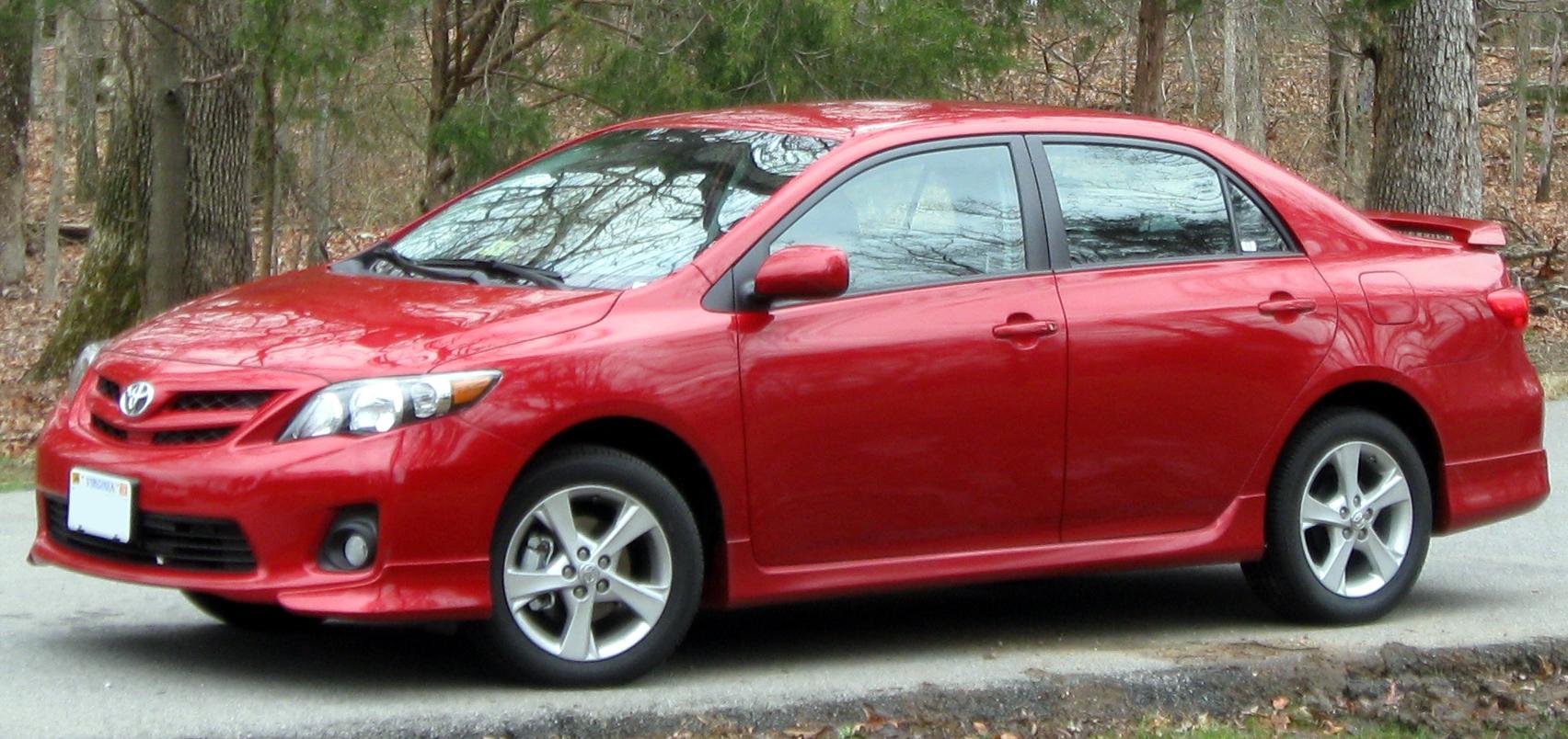 2012 corolla horsepower
