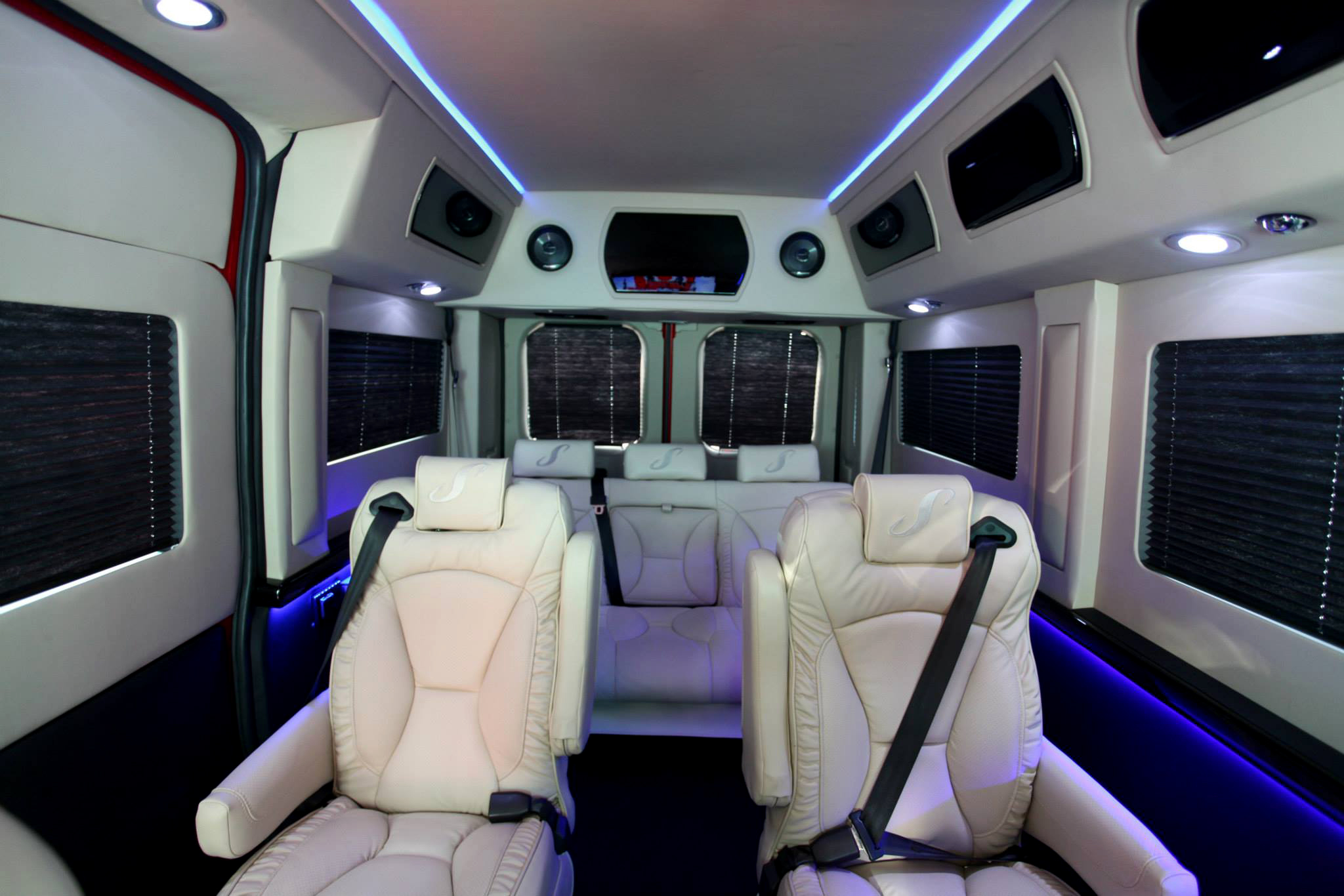 File 2014 sherry vans red high top conversion van on promaster chassis interior for Commercial van interior accessories