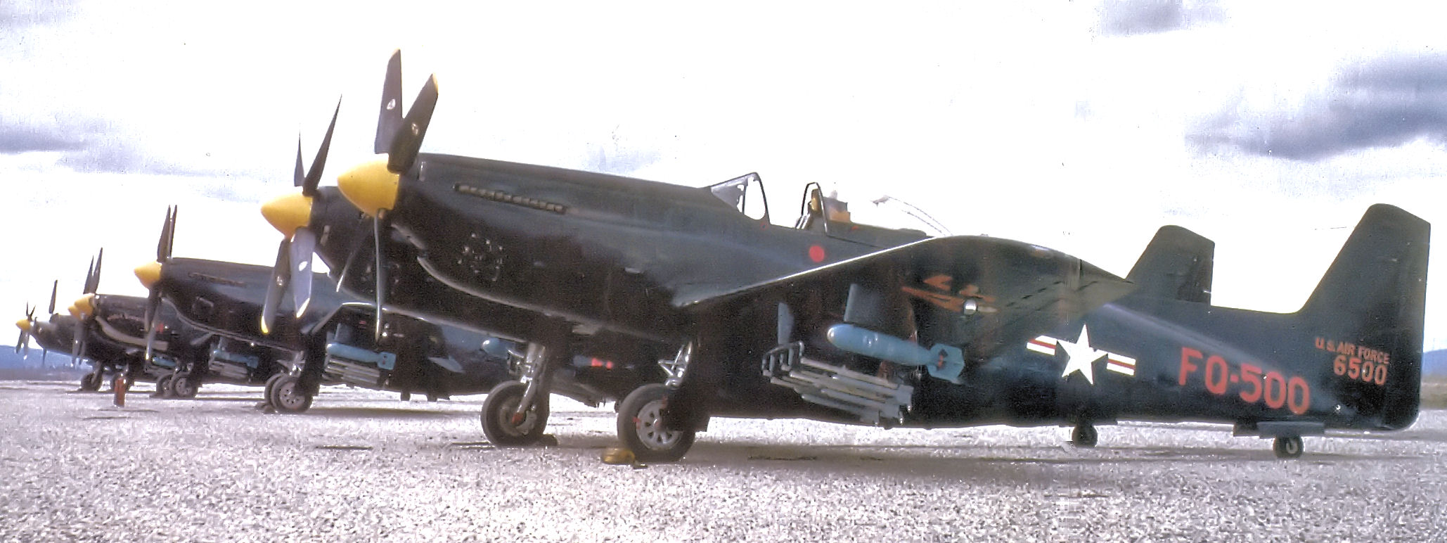 File 449th Faws North American F 82h Twin Mustang 46 500