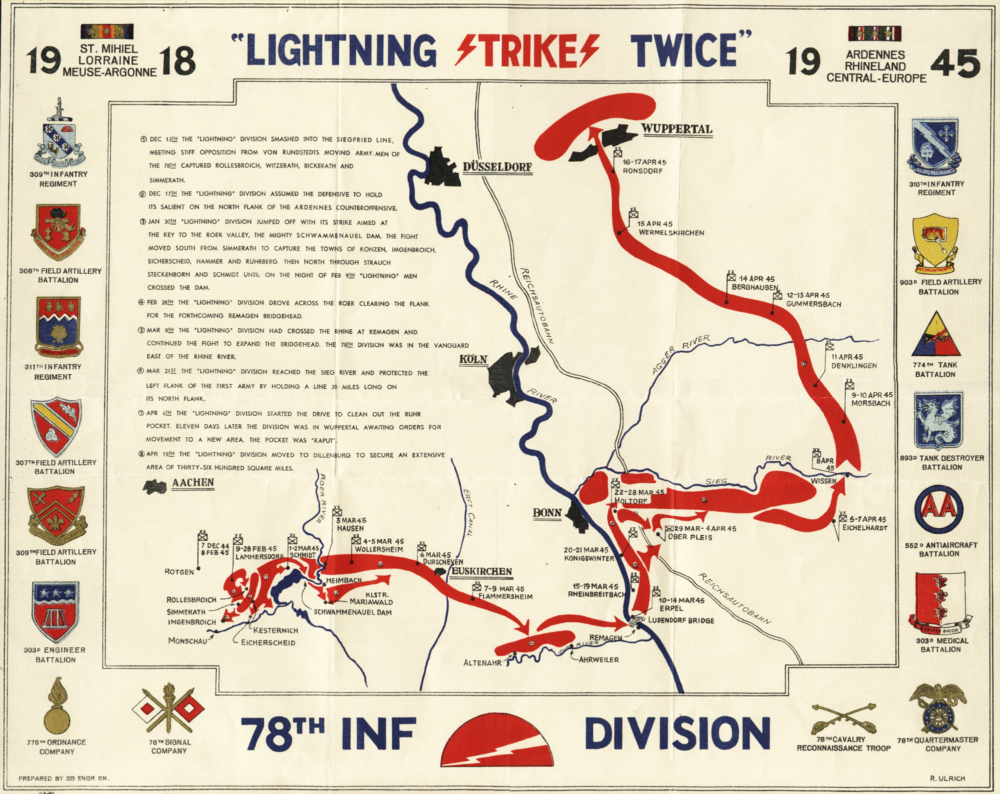 the map of united states with File 78th Division Wwii Route Map on File 78th division wwii route map besides Oregon dunes national recreation area further Richmond International Airport in addition National Park Sachsische Schweiz 7 together with Stock Images Bunting Flags Image22528314.