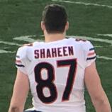 Adam Shaheen (American football) American football tight end