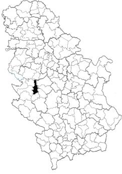 mapa pozega srbija Opština Požega   Wikipedia mapa pozega srbija