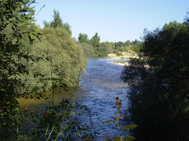 El Alberche a su paso por Aldea del Fresno