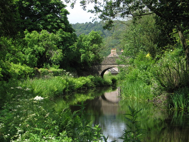 A view along Cromford Canal