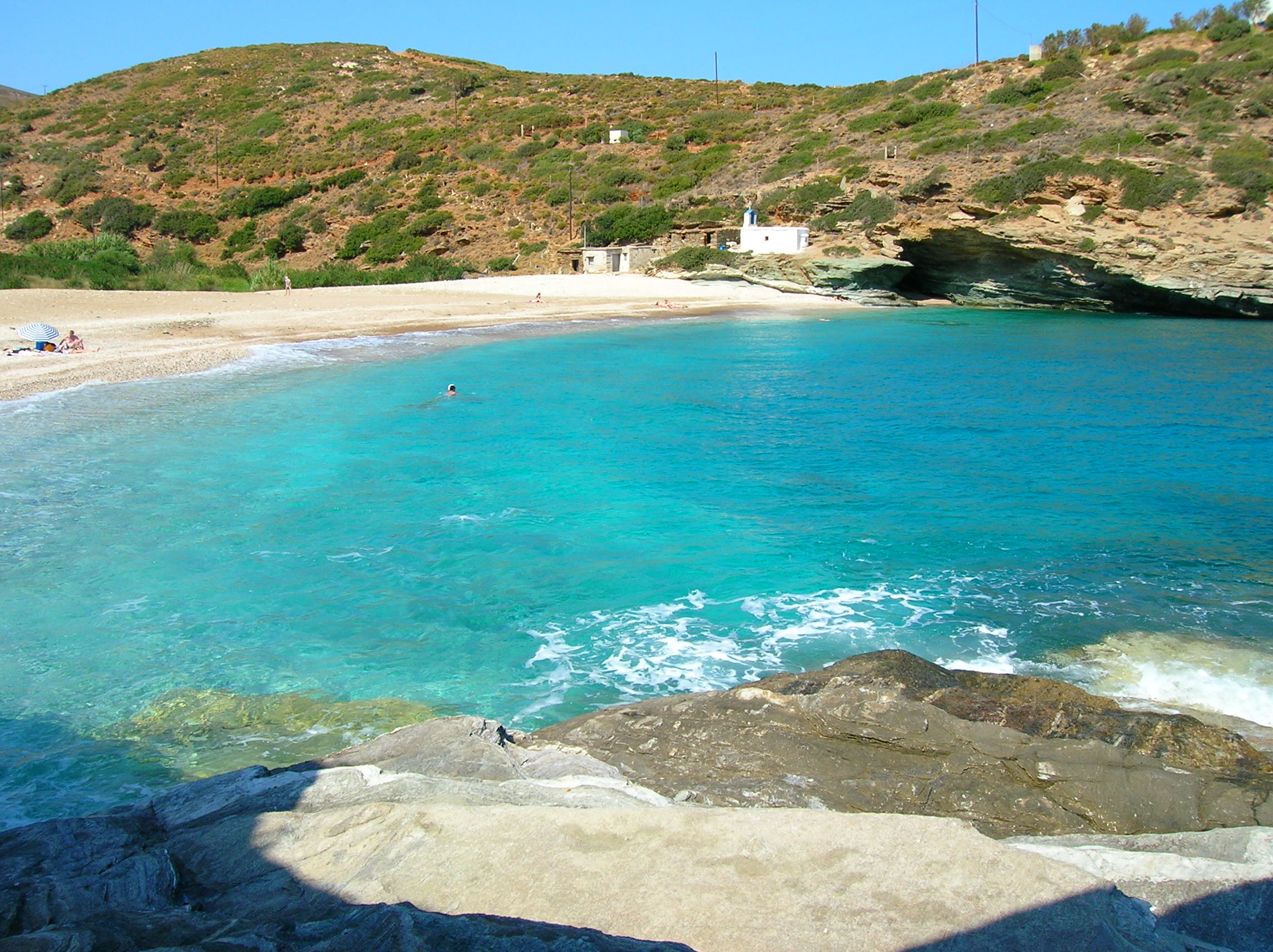 Andros Greece  City new picture : Description Andros Beach