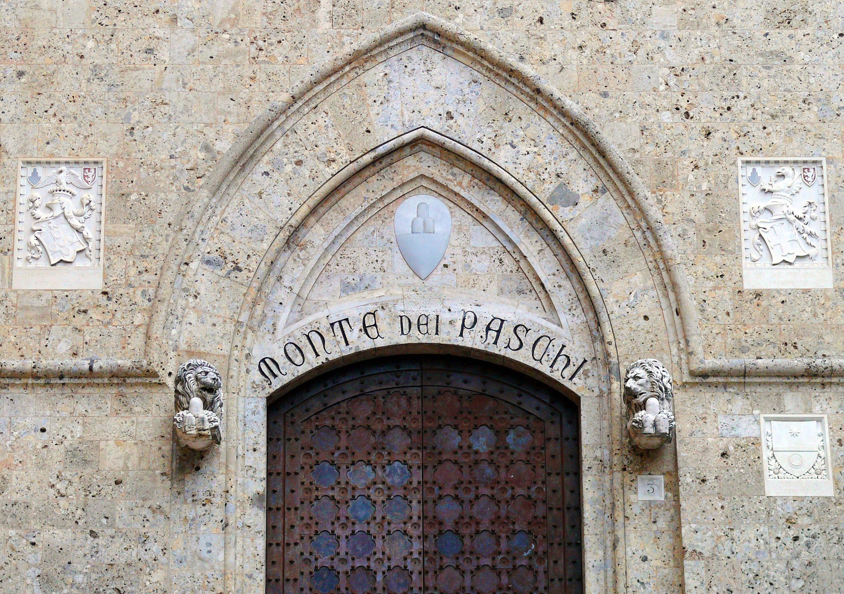 nuovo arriva vendita all'ingrosso bene fuori x Banca Monte dei Paschi di Siena - Wikipedia