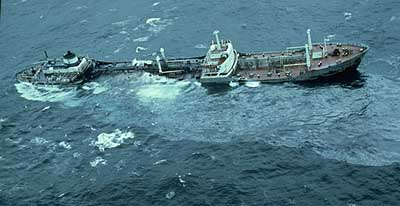 Archivo: Argo Merchant carrera aground.jpg