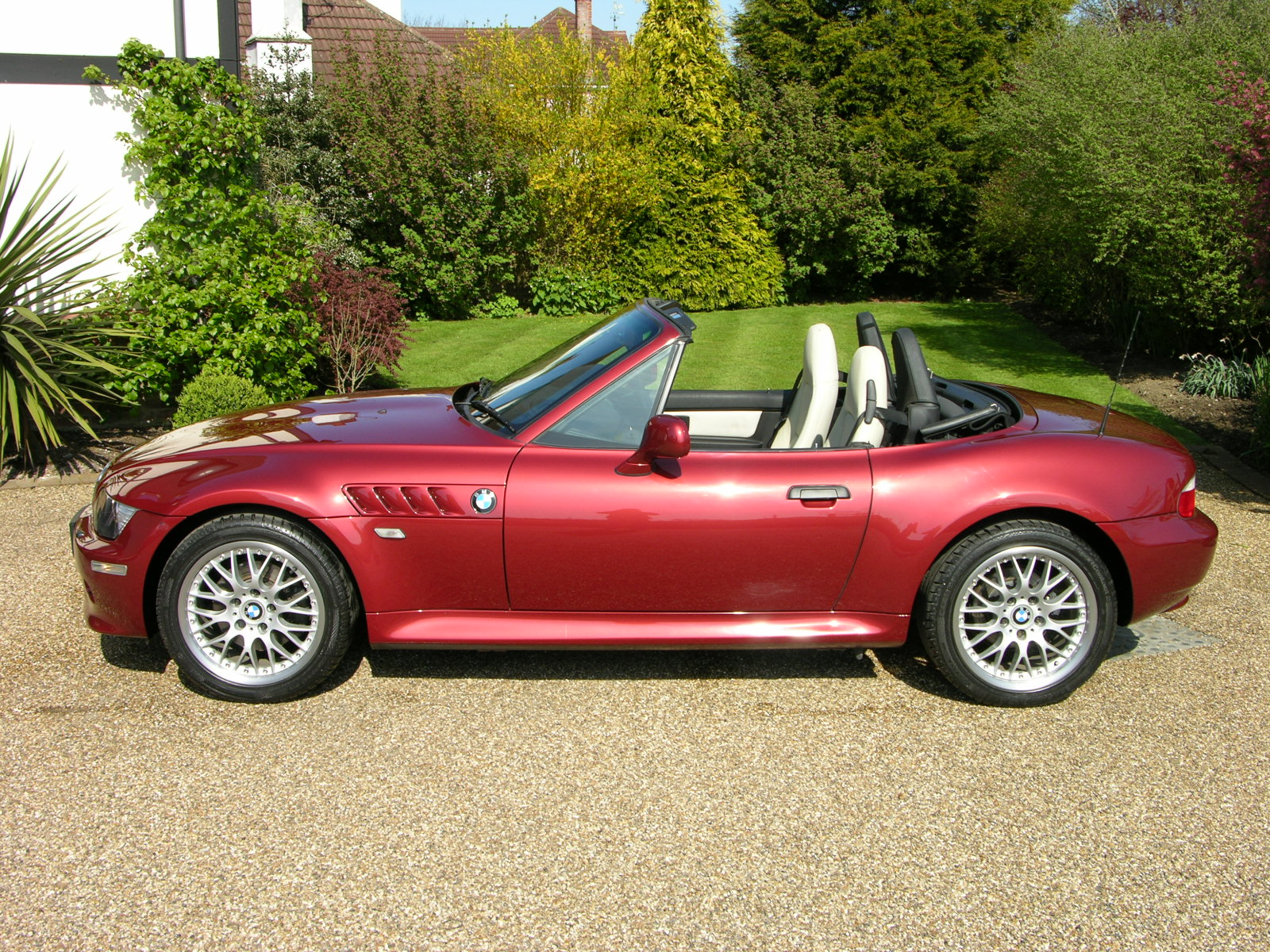 File Bmw Z3 3 0i Calypso Red 2002 Flickr The Car Spy
