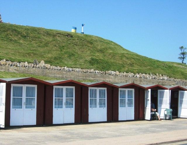 Beach Huts - geograph.org.uk - 599619