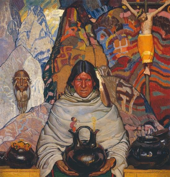 Vintage Altman S Painting