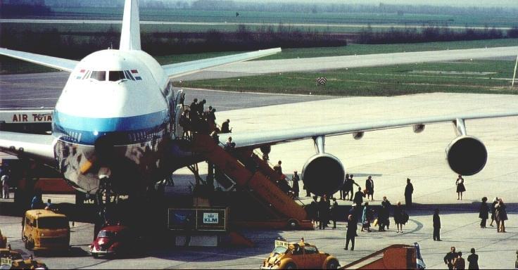 Resultado de imagen para Boeing 747 KLM 1971