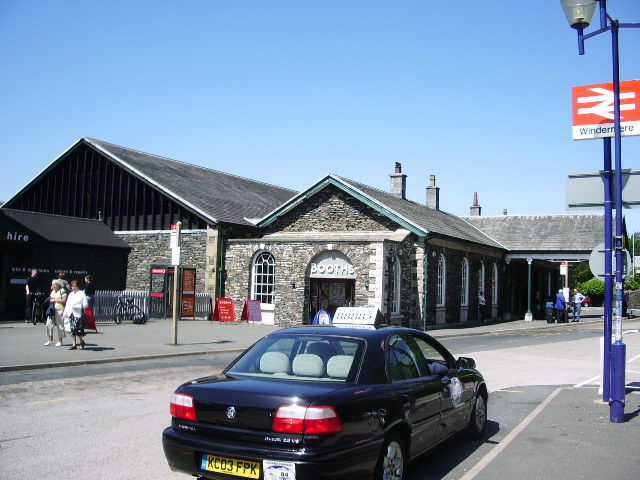 Booths at Windermere Railway Station - geograph.org.uk - 459996