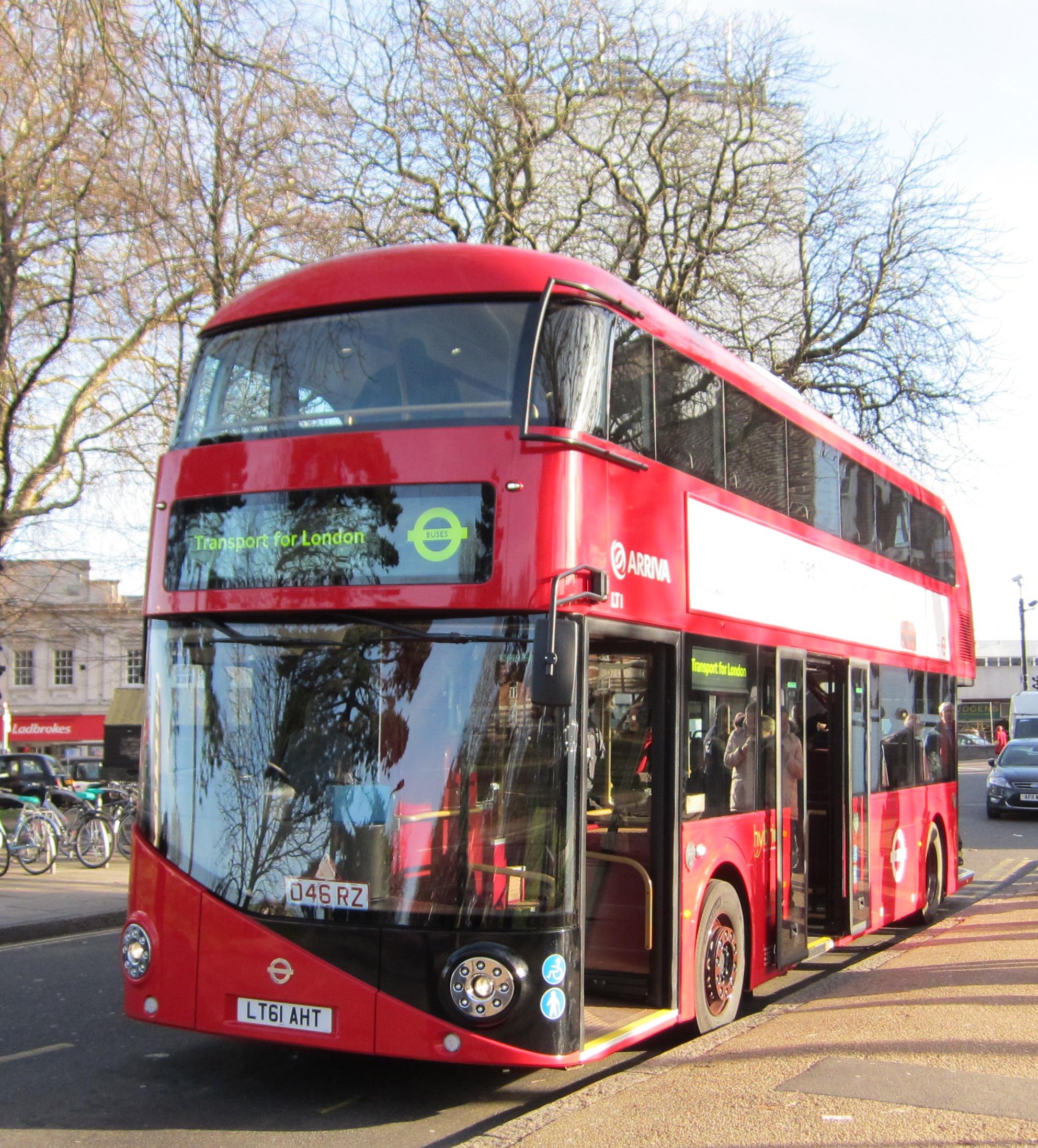 Boris Bus - the 'new Routemaster'