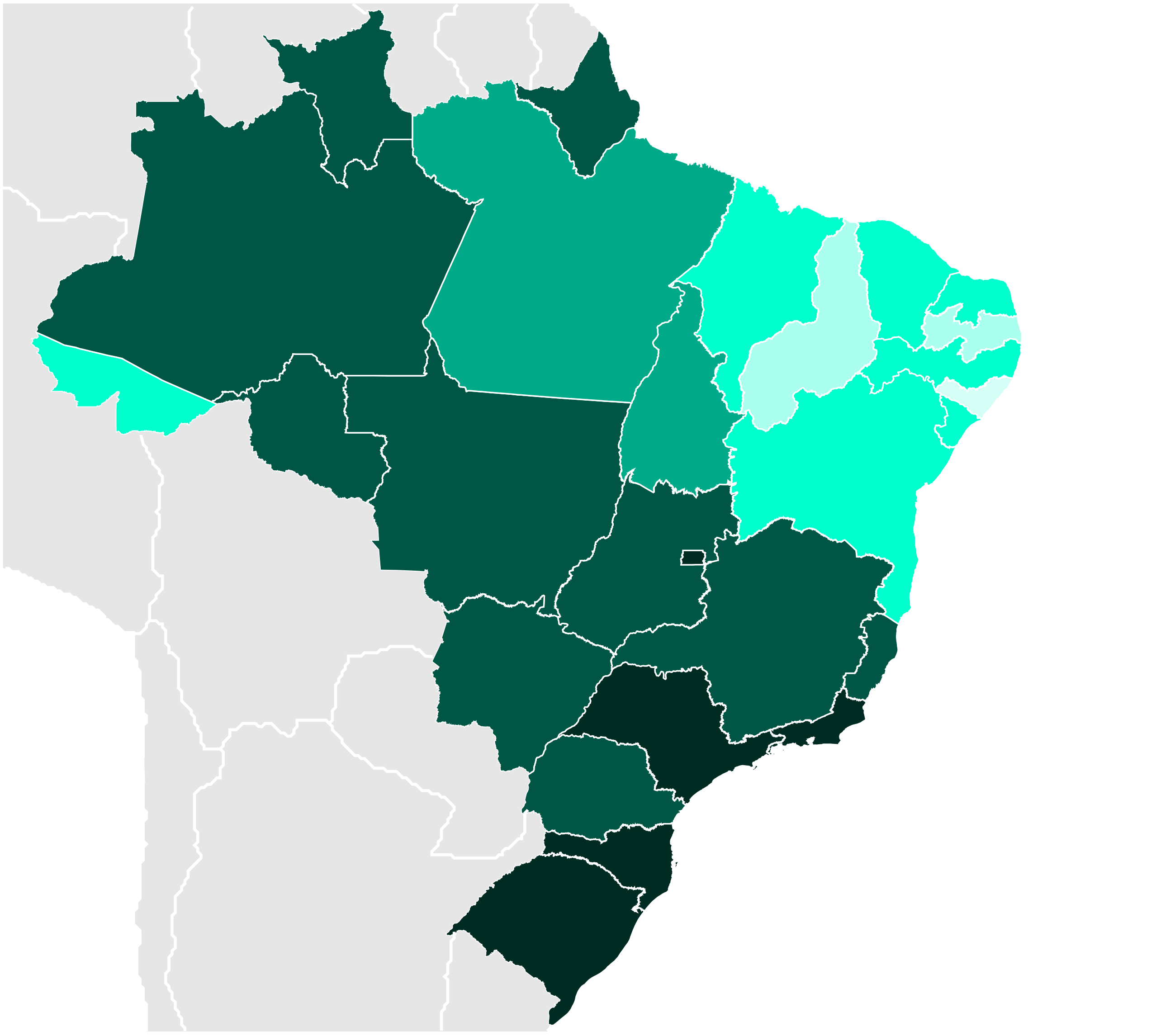 File:Brazilian States by Literacy rate.PNG - Wikipedia, the free ...