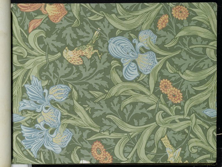 File:Brooklyn Museum  Wallpaper Sample Book 1  William Morris and Company  page051.jpg