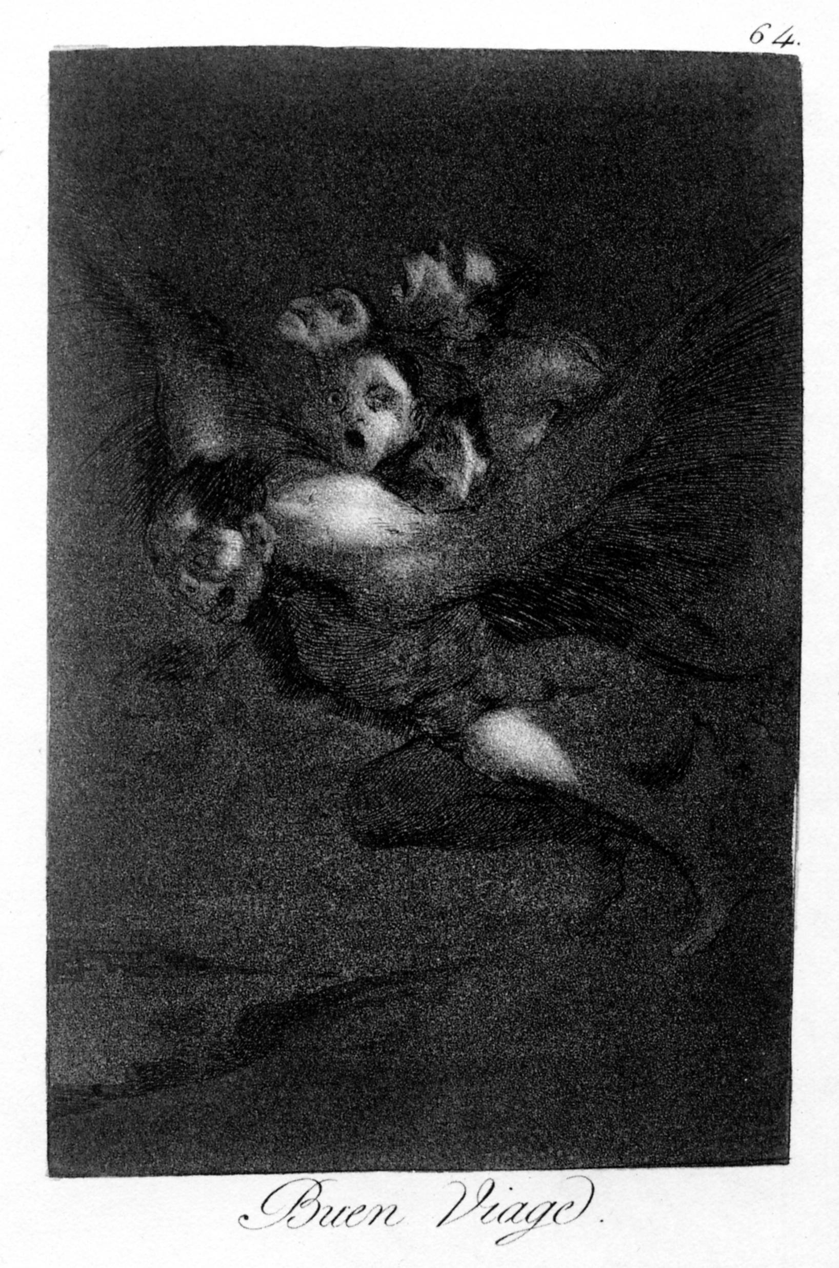 Los caprichos de Goya Buen_viaje
