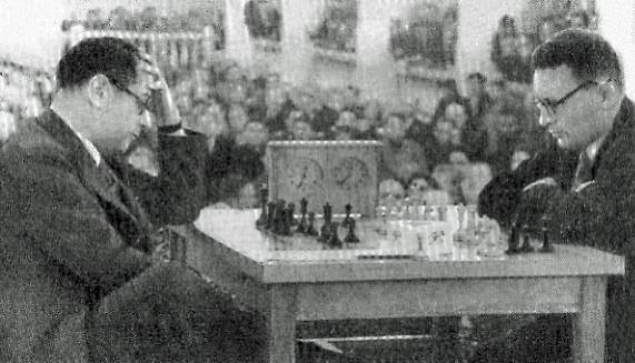 Capablanca vs Botvinnik in 1936