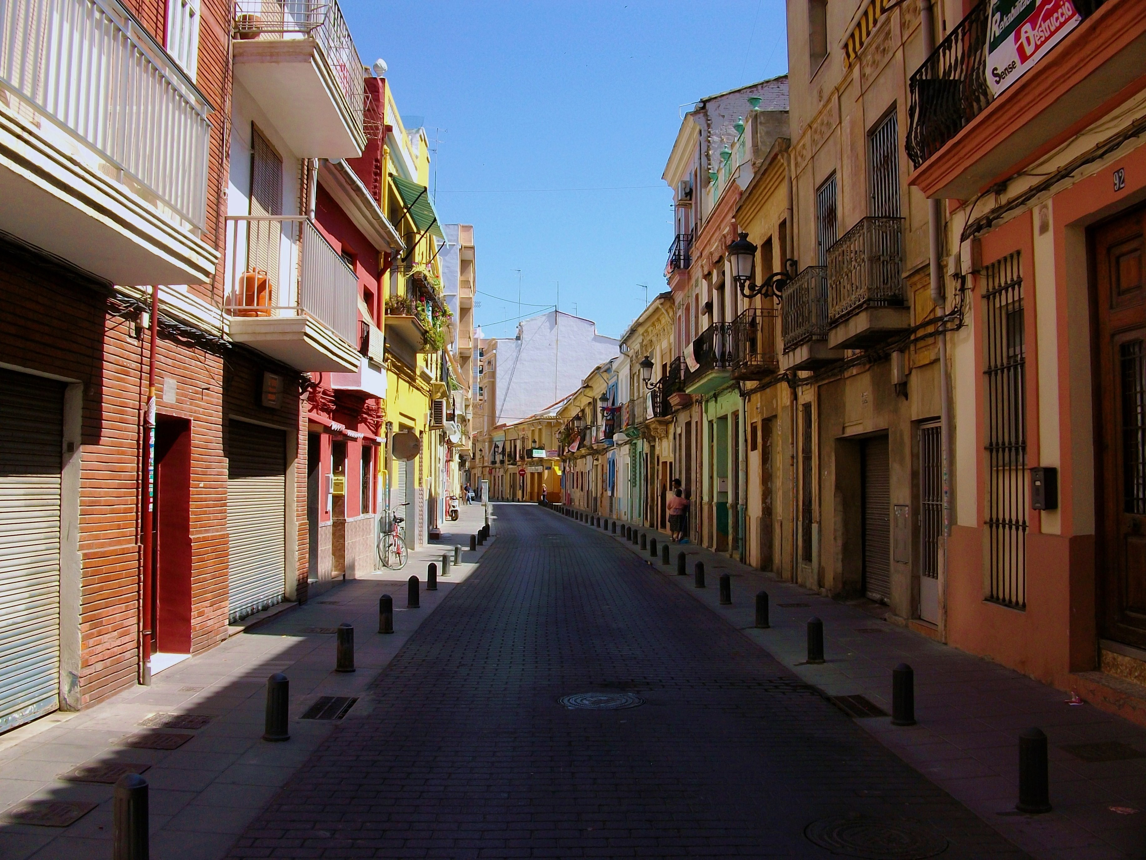 Barrio del Cabanyal, en Valencia | Foto: Joanbanjo en Wikimedia Commons