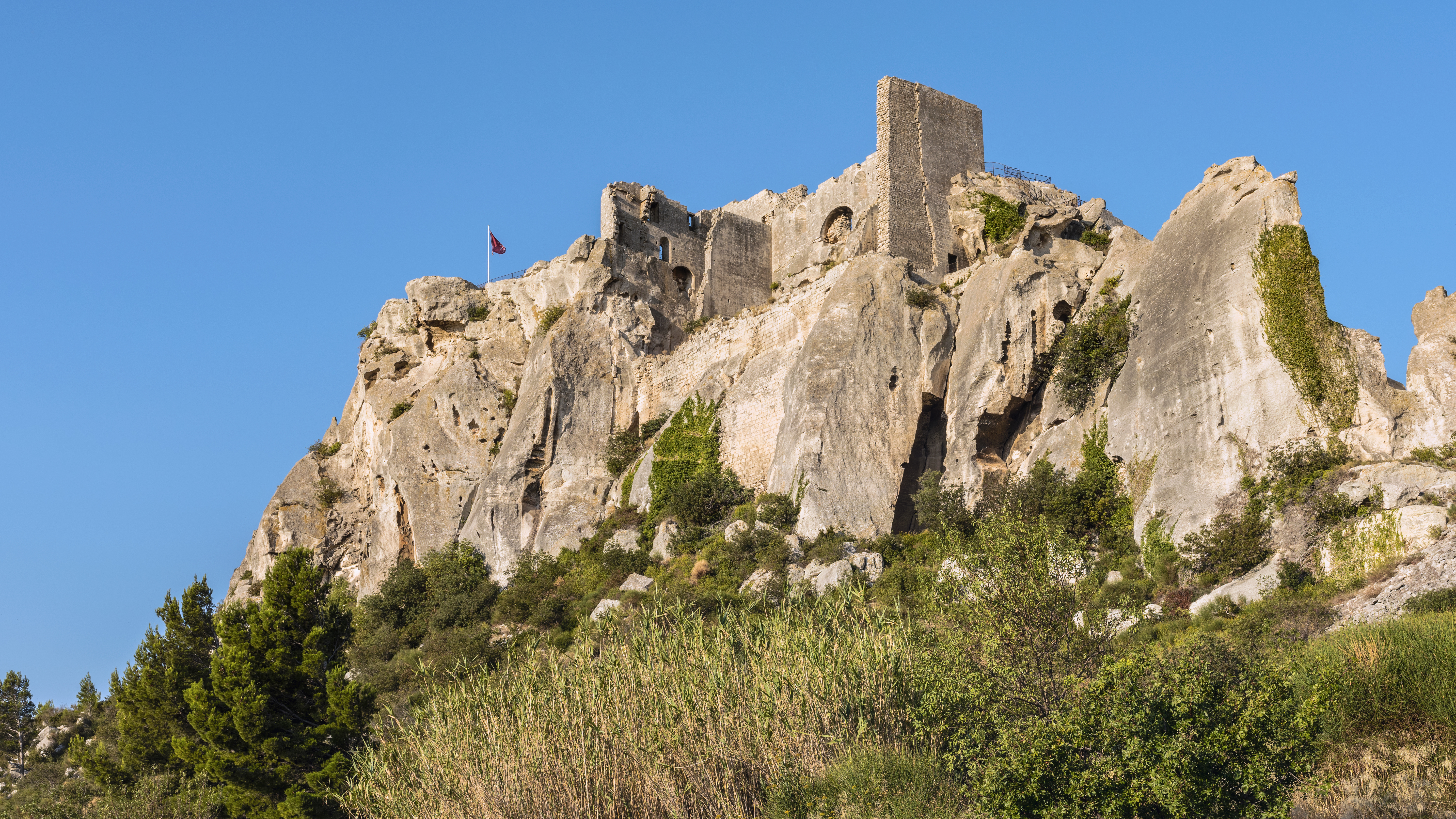 Château Des Baux Wikipédia