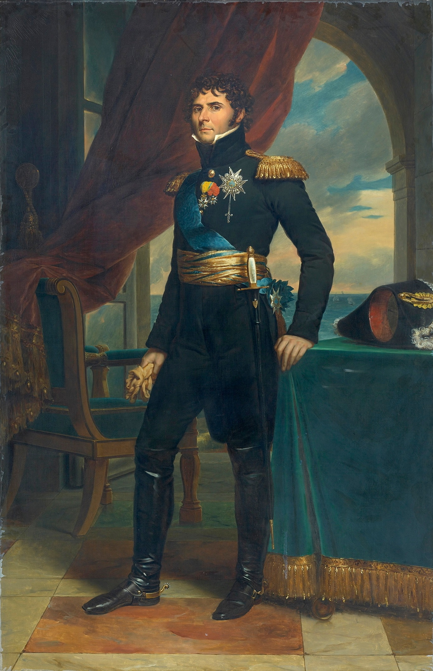 François Gérard: Charles John as Crown Prince of Sweden