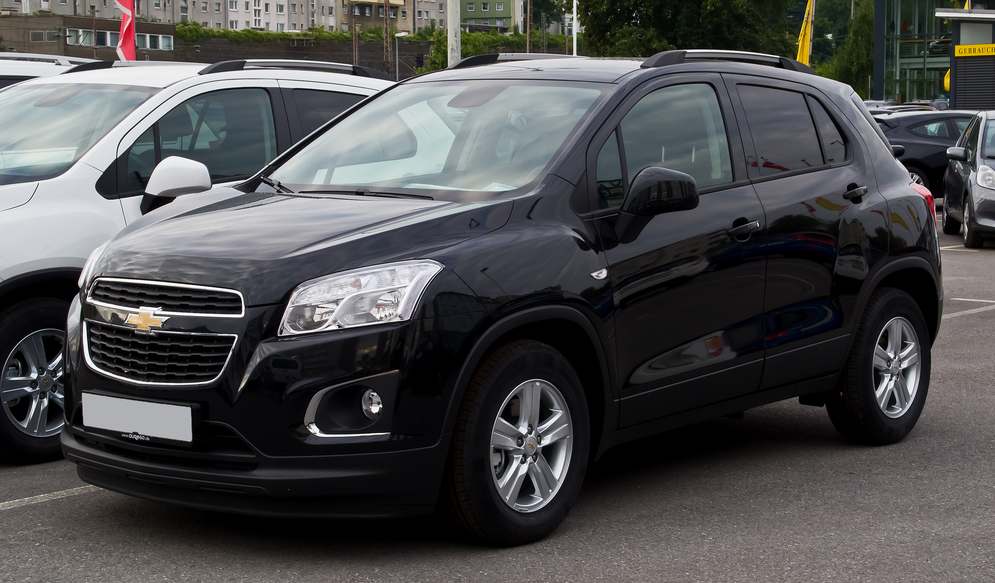 File:Chevrolet Trax LS+ 1.4 4WD – Frontansicht, 11. August 2013