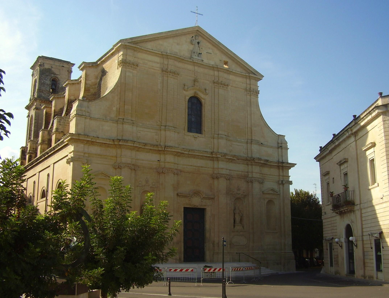 File chiesa madre san cesario di wikimedia commons for Albanese arredamenti san cesario lecce