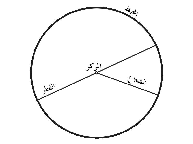 كيف يُحسب مُحيط الدائرة؟