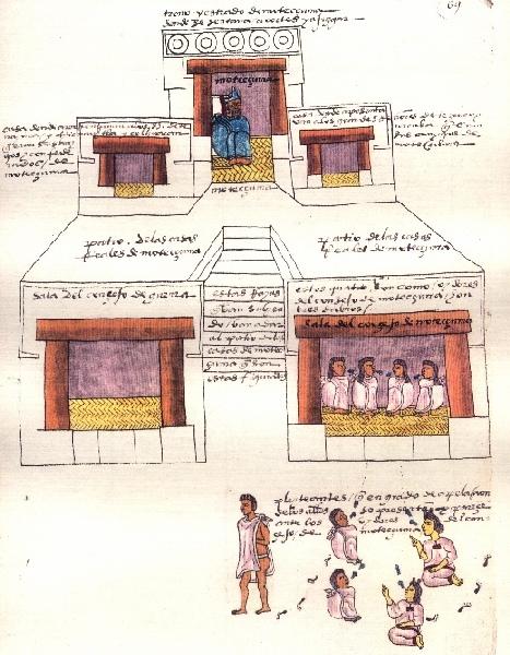 Teocalli de Moctezuma Xocoyotzin.