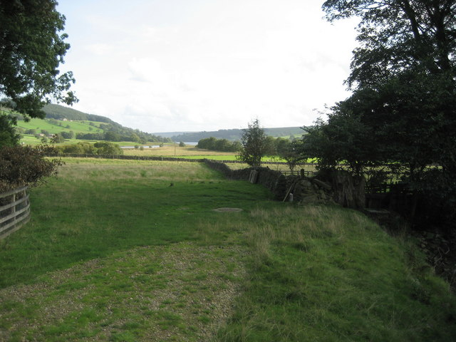 Countryside just north of Gouthwaite Reservoir - geograph.org.uk - 245430