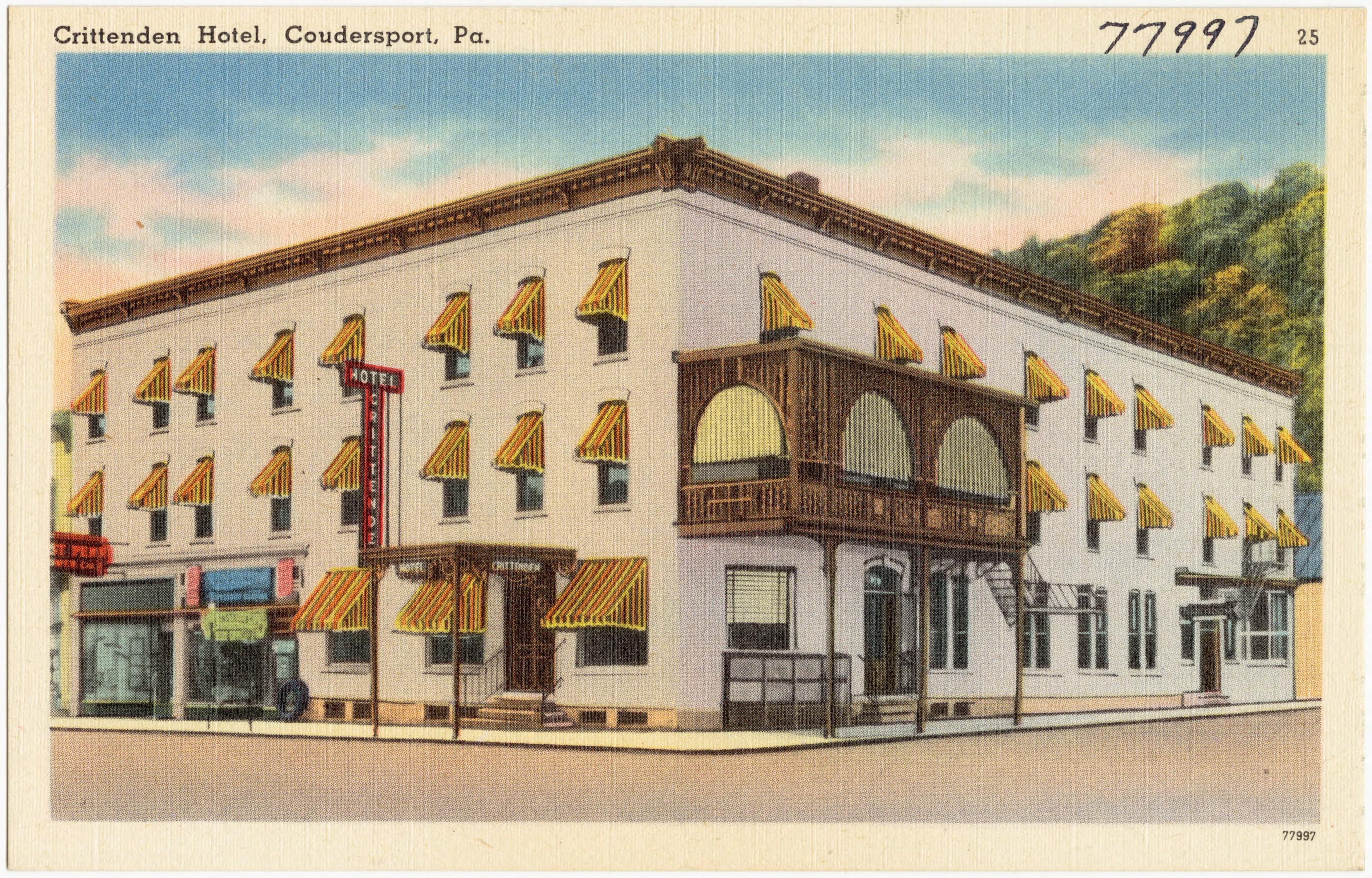 File Crittenden Hotel Coudersport Pa 77997 Jpg