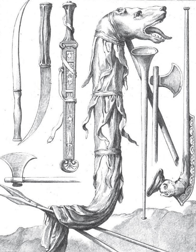 Dacian Weapons