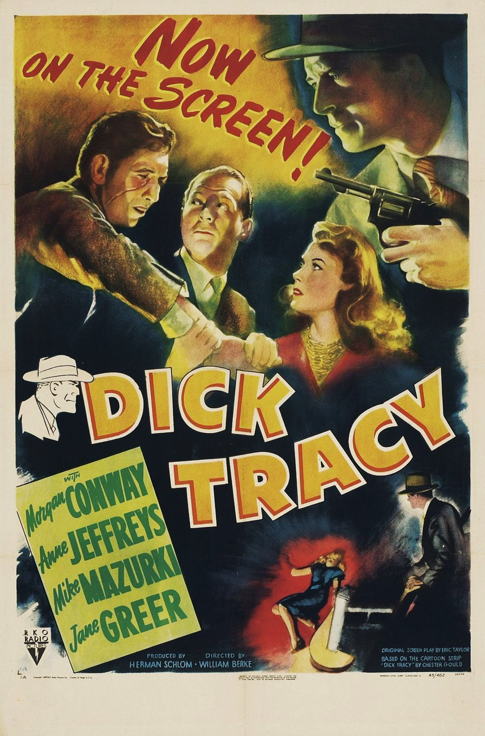 Dick Tracy Film 1945 Wikip 233 Dia