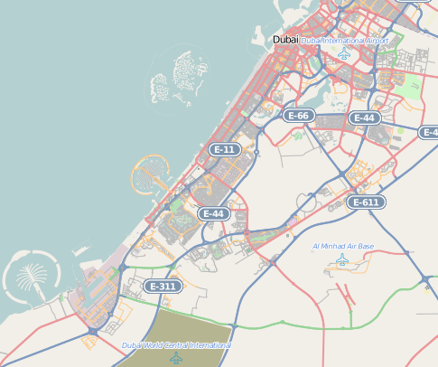 Dubai location map.png