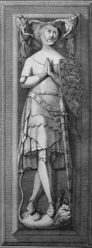 John of Eltham's effigy at Westminster Abbey