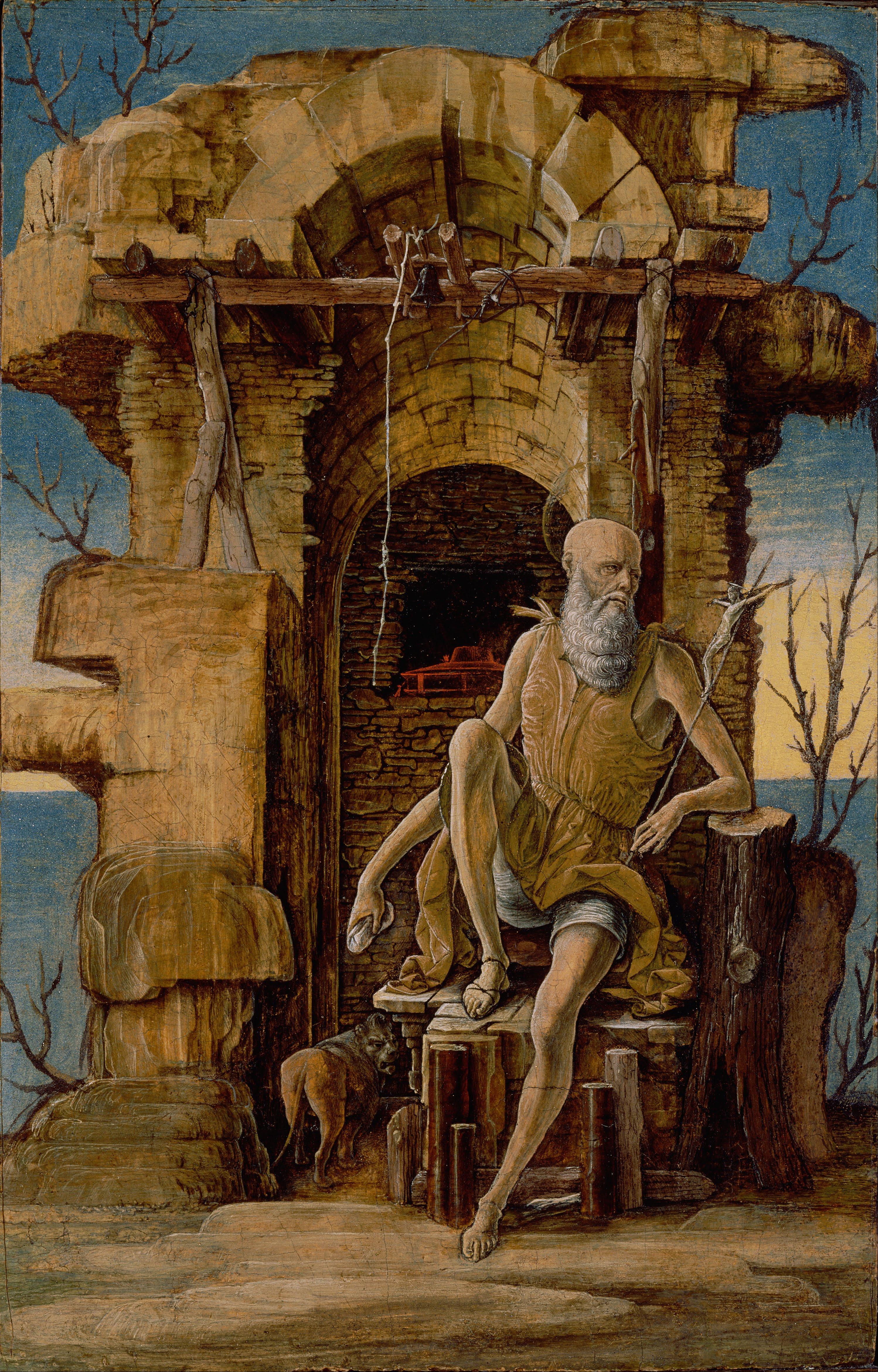 File:Ercole de'Roberti - Saint Jerome in the Wilderness ...