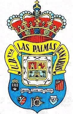 Escudo de la U.D.Las Palmas,