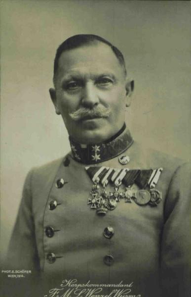 Polní zbrojmistr Václav Wurm