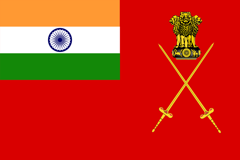 चित्र:Flag of Indian Army.png