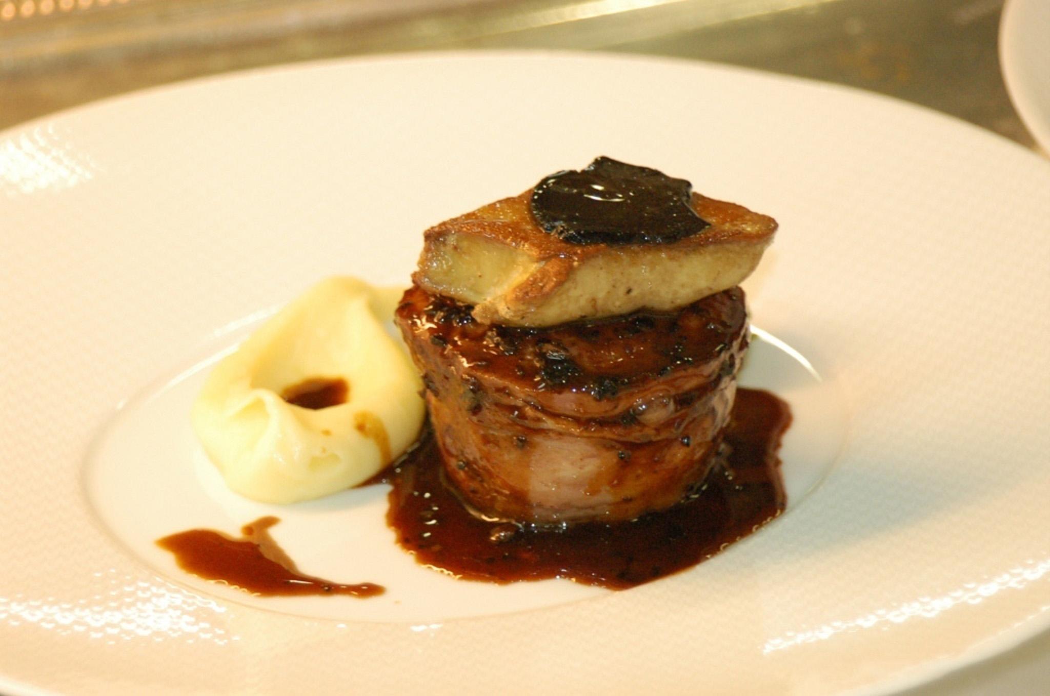 recette foie gras pommes