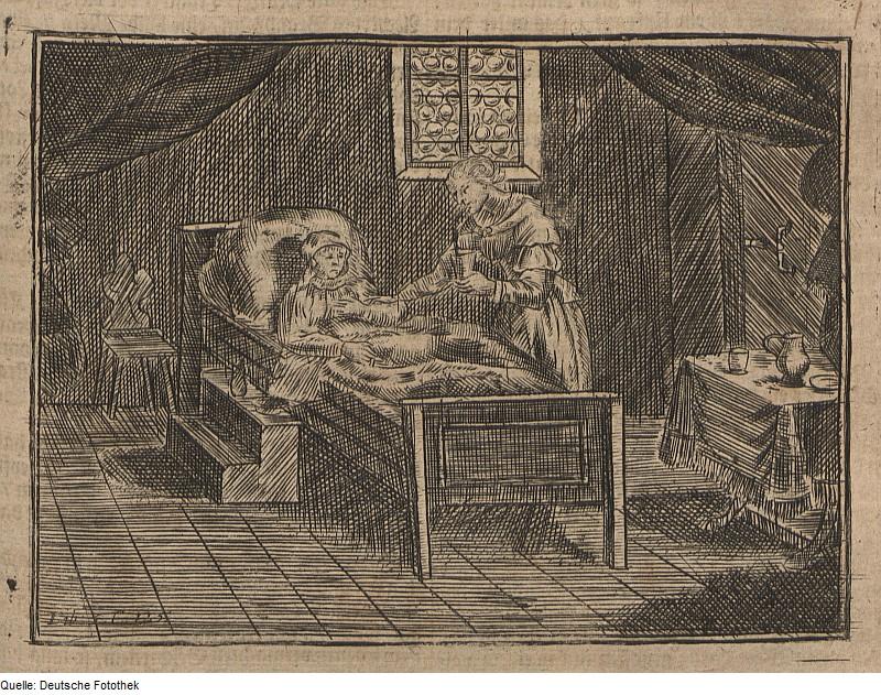 Wolf Helmhardt von Hohberg 1695 - Kupferstich Pflege, Quelle: WikiCommons