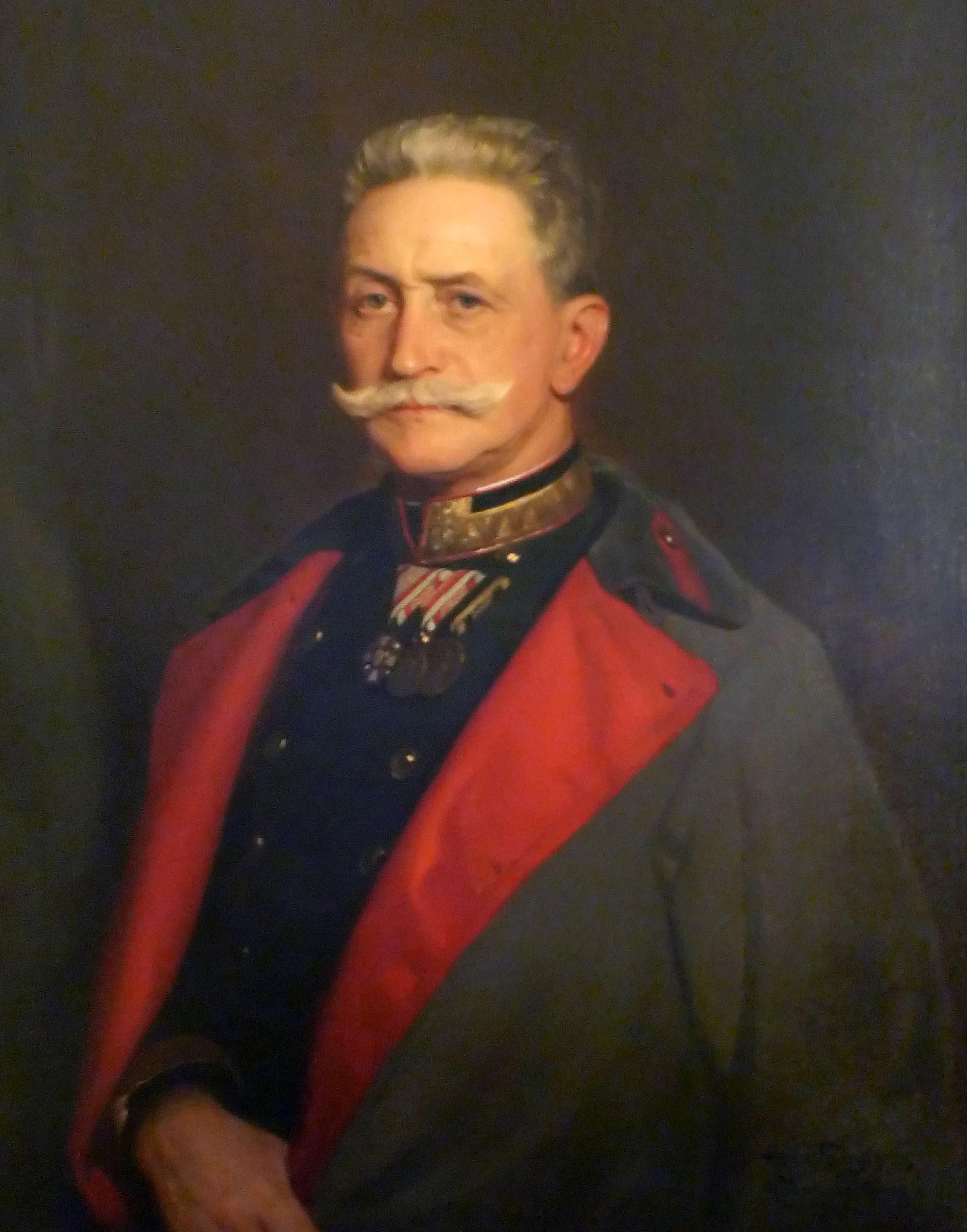 Description Franz Conrad von Hötzendorf (Hermann Torggler, 1915).jpg