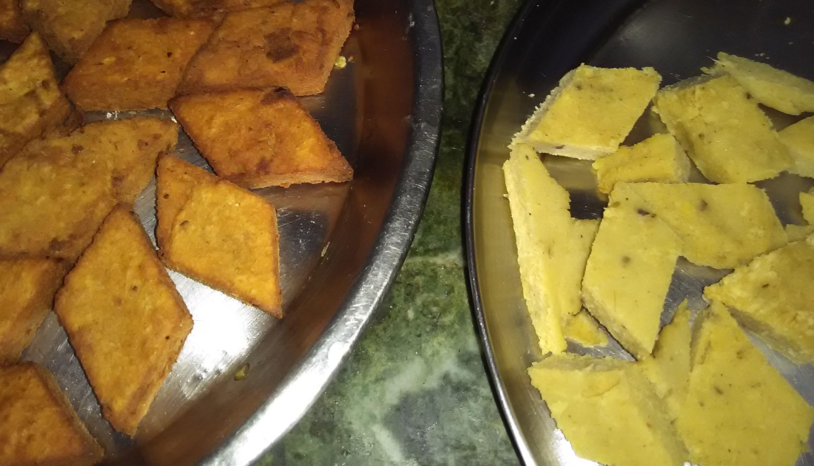 File:Fried cake of Bengal gram(Bengali name Dhoka) jpg - Wikimedia