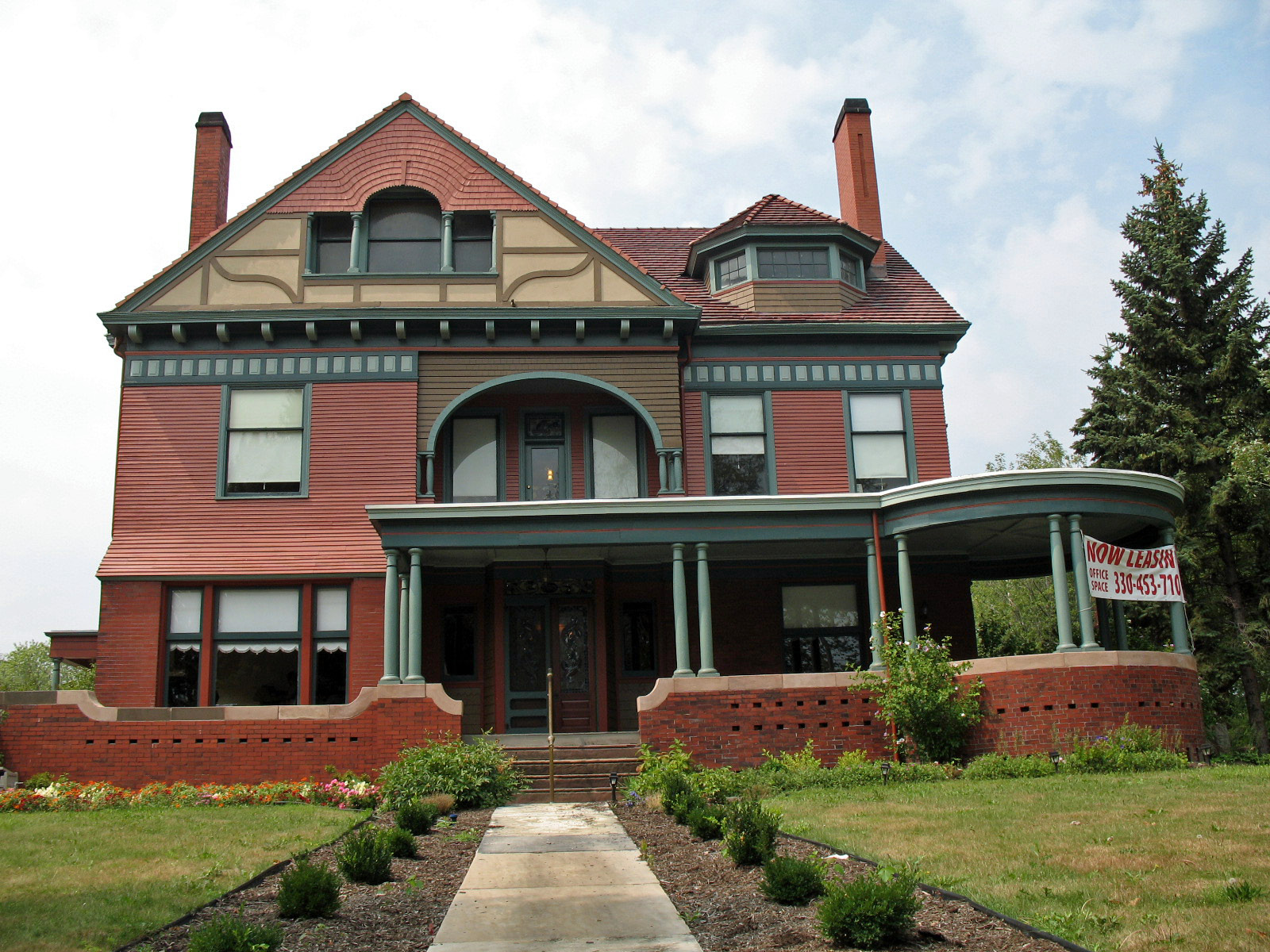 File george e cook house canton oh jpg wikimedia commons for Building a home in ohio