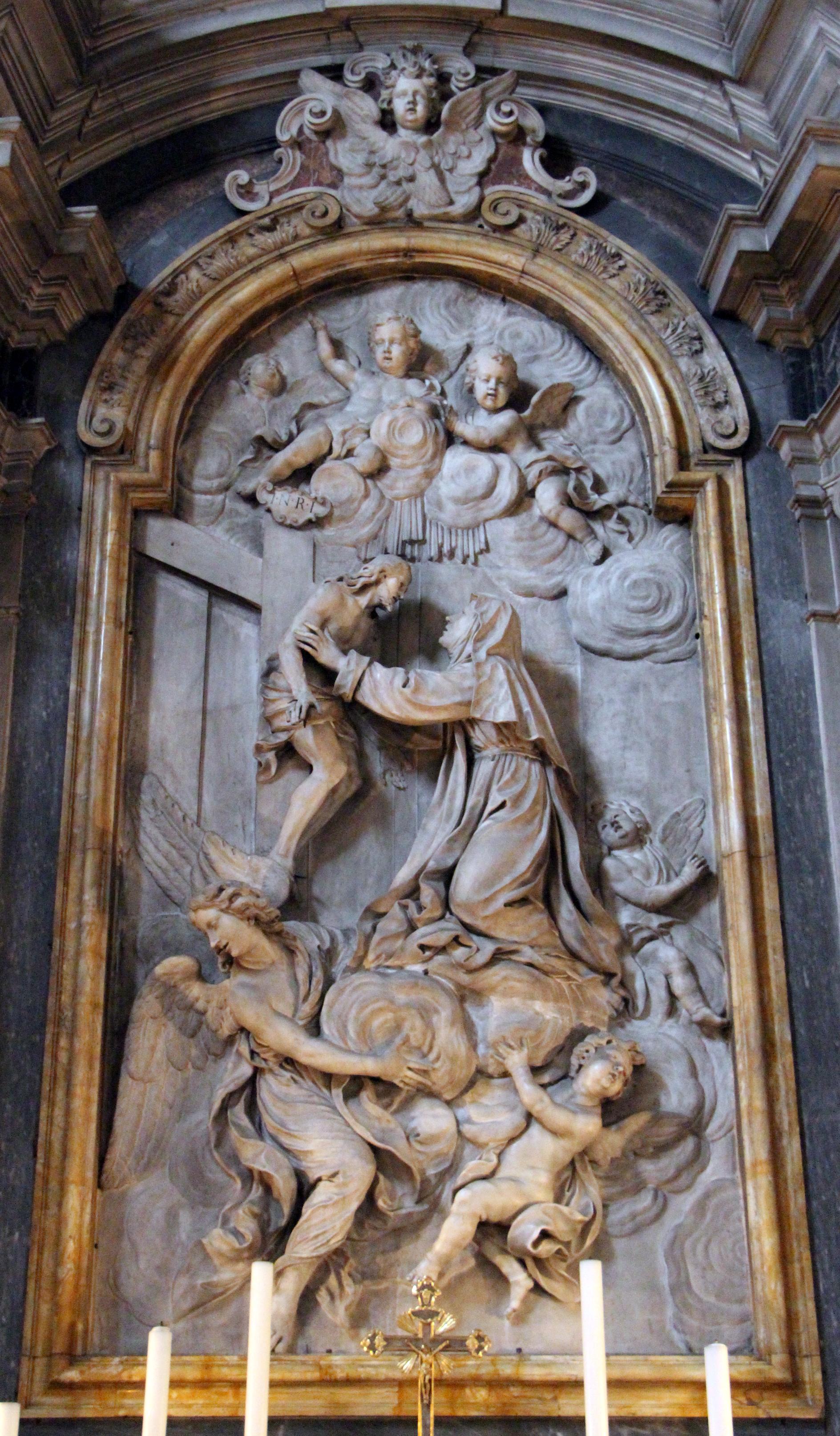 FileGirolamo Ticciati Miracolo Di S Caterina De Ricci Che Abbraccia Il